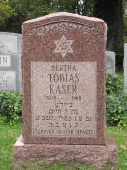 Bertha <i>Fineshriber Tobias</i> Kaser