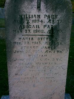 Abigail <i>Stowe</i> Park