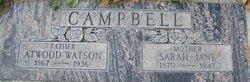 Sarah Jane <i>Arthur</i> Campbell