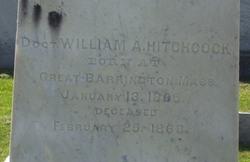 Dr William Aaron Hitchcock