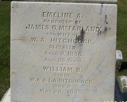 Emeline A. <i>McFarland</i> Hitchcock