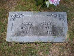 Peggy Fay <i>Huddleston</i> Abbott