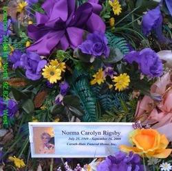 Norma Carolyn <i>Thacker</i> Rigsby