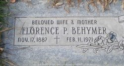 Florence Pearl <i>Brown</i> Behymer