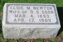 Etta Maria Elsie <i>Newton</i> Cook