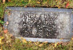 Janet Ingles <i>Fultz</i> Alexander
