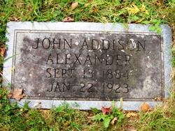 John Addison Alexander