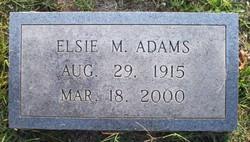Elsie Lee <i>Moore</i> Adams