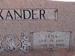 Lena <i>Overton</i> Alexander
