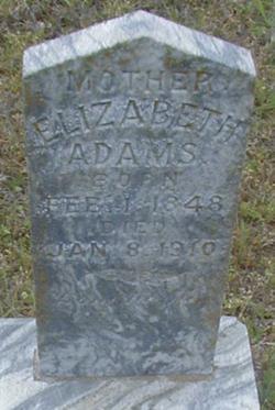 Elizabeth <i>Green</i> Adams