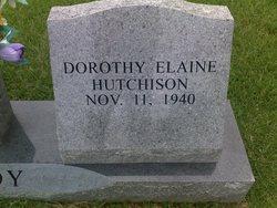 Dorothy Elaine <i>Hutchison</i> Dendy
