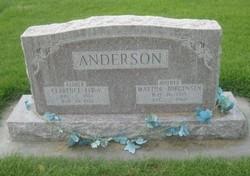 Martha <i>Jorgensen</i> Anderson