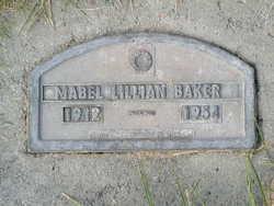 Mabel Lillian <i>McCracken</i> Baker