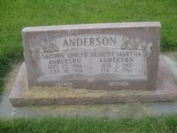 Almeda Martha <i>Anderson</i> Anderson