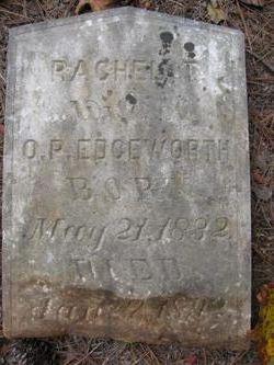 Rachel T. M <i>Rogers</i> Edgeworth