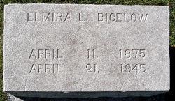 Elmira Lucinda <i>Marble</i> Bigelow