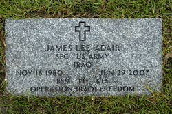 Spec James Lee Adair