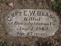 Capt Edwin White Branch