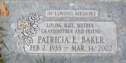 Patricia E Baker
