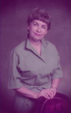 Helen Juanita <i>Chambers</i> Hill