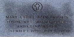 Mary Cebile <i>Bain</i> Dobson