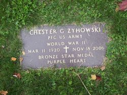PFC Chester G Zyhowski