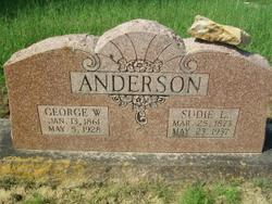 Susan/Sudie Louise <i>Tankersley</i> Anderson