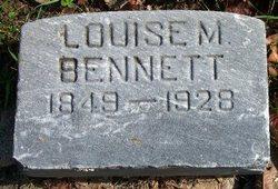Louise M <i>Brown</i> Bennett