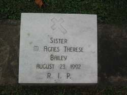 Helena Rosetta Sister M. Agnes Therese Bailey