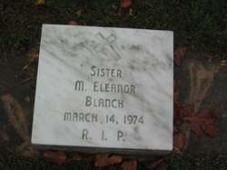 <i>Sister M. Eleanor</i> Blanch