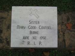 <i>Sister Mary Good Counsel</i> Burke
