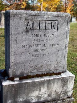 Margaret Maybella <i>Forbes</i> Allen