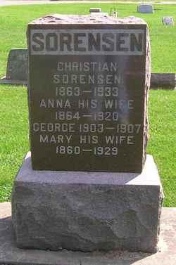Anna <i>Christianson</i> Sorensen