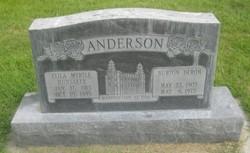 Eliza Myrtle <i>Hunsaker</i> Anderson