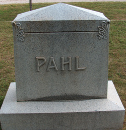 Marie A. <i>Pahl</i> Ragsdale