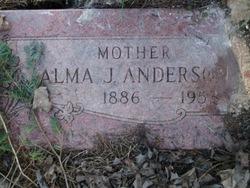 Alma J Anderson