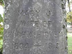 Mary Jane <i>Etter</i> Hickey