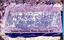 Nettie Ann <i>Haggin</i> Burchett