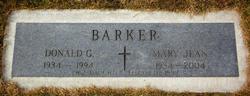 Donald G Barker