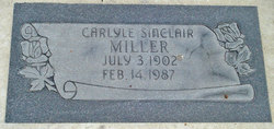 Carlyle Sinclair Miller