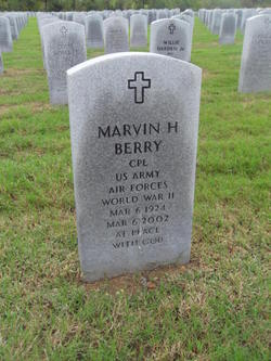Marvin H Berry