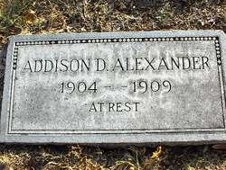 Addison D Alexander