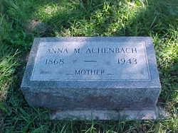 Anna M Achenbach