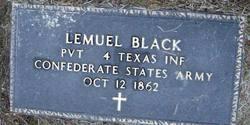 Pvt Lemuel Black