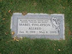 Mabel <i>Finlayson</i> Allred