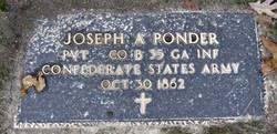 Pvt Joseph Ponder