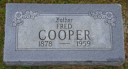 Frederick Fred Cooper