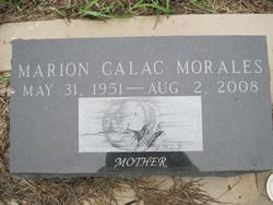 Marion <i>Calac</i> Morales