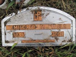 Mildred <i>Tabor</i> Falls