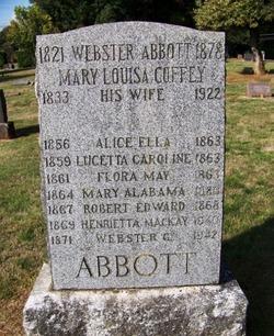 Webster Abbott, Sr